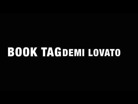 Book Tag: DEMI LOVATO | Marianna G ft. DePasteDura