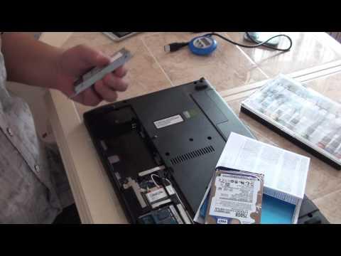 Замена в ноутбуке HDD на SSD