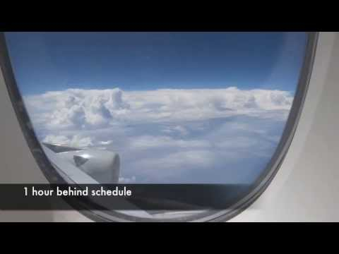 Singapore Airlines A380 Business Class SIN - HKG Sept 2014