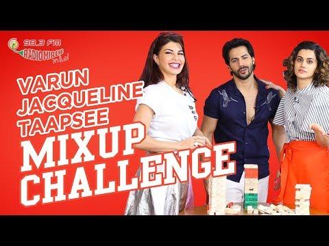 download lagu Varun, Jacqueline & Taapsee  The Mix-up Challenge  gratis