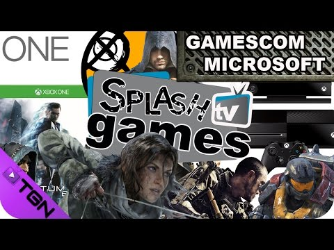 SPLASH TV GAMES (Especial MICROSOFT GAMESCOM 2014)