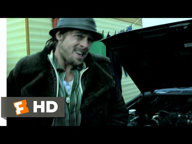 The Pikey Caravan - Snatch. (1/8) Movie CLIP (2000) HD