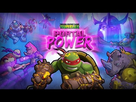 TMNT - Portal Power (by Nickelodeon) - iOS / Android - HD Gameplay Trailer