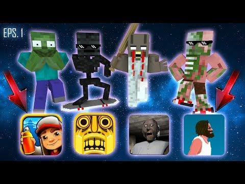 Monster School : ALL EPISODE 1 - Minecraft Animation