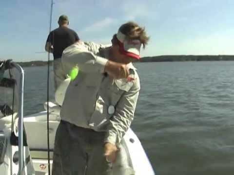 Carolina fishing tv season1 6 military fishing day for Carolina fishing tv