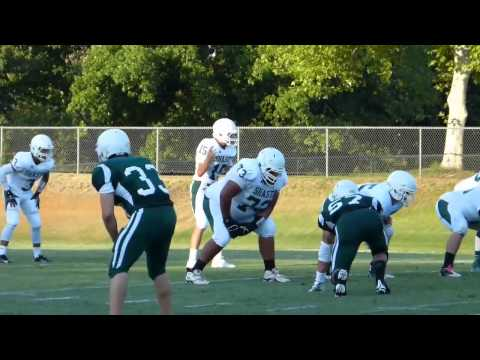 Shasta College Green and White scrimmage