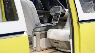 [HOT NEW] Volkswagen I.D. Buzz Concept:2017 Detroit Auto Show|microbus concept