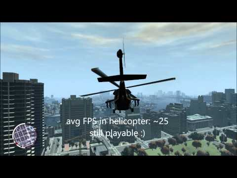 GTA IV on Intel HD 4600