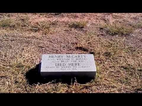 Billy the Kid- Shot and Killed here!- Decoded