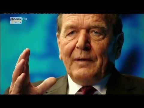 Zeugen des Jahrhunderts: Gerhard Schröder im Gespräch mit Thomas Bellut am 13.04.2014