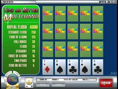Tens or Better   Video Poker Games   Online Video Poker Games   USACasinoGamesOnline