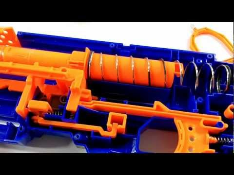 Nerf Longstrike CS-6 AR removal & Spring replacement mod