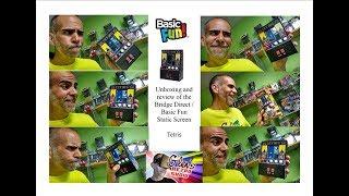 Unboxing the Basic Fun Static Screen Tetris