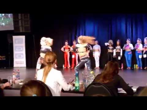 Janina Ilkka & Saima Kokkonen -  Finnish, European & World champions 2015 - Disco Dance