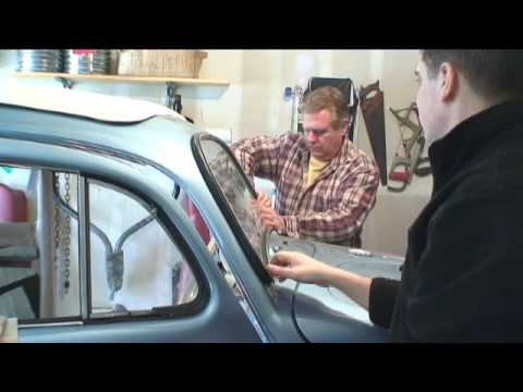 Classic VW Beetle Bug How to Install Windows Tip C. Vallone