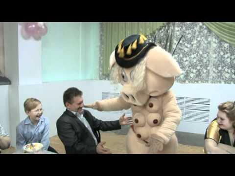 Танец свиньи на свадьбе Дмитрия и Татьяны 3.12.2011 года