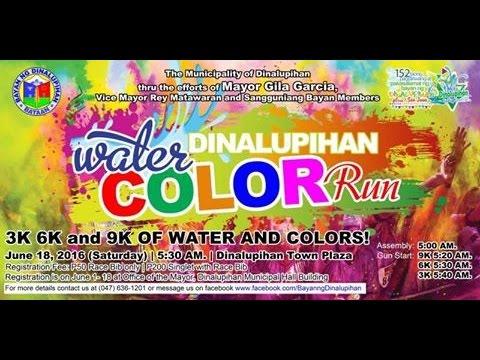 Dinalupihan Water Color RUN 2016