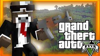 GRAND THEFT AUTO 5 ( Minecraft Funny Videos & Moments - GTA V Mods )