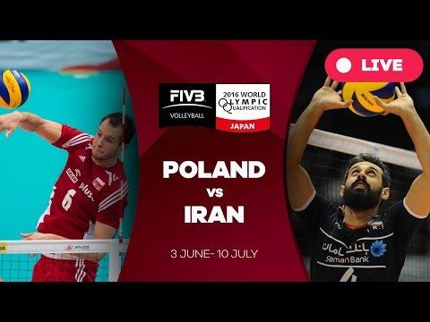 Poland v Iran - 2016 Men's World Olympic Qualification Tournament