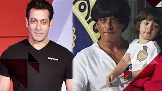 Salman Khan Is Scared Of Being Hurt In Love | Shah Rukh Shares A Video Of AbRam On Social Media
