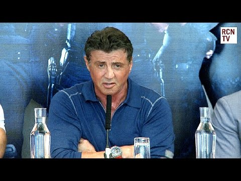 Sylvester Stalllone Confirms The Expendables 4 & Expendabelles video