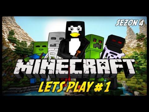 Minecraft - Od Kiedy Lwy Sprzedaja bilety do Kina!? : Pingwin Pack Let's Play #1