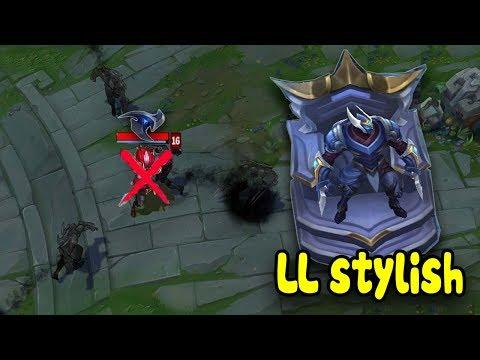 Với 1 Triệu 4 Điểm Thông Thạo - ZED của LL Stylish sẽ đáng sợ đến mức nào - Best  LL Stylish Montage