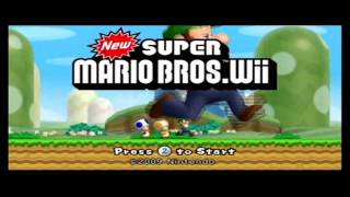 New Super Mario brothers Wii hacking and Music Changes