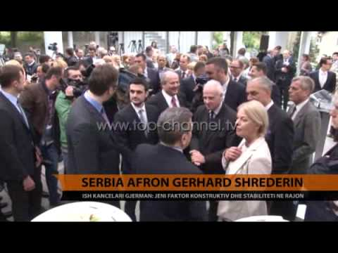 Serbia afron Gerhard Schroeder - Top Channel Albania - News - Lajme