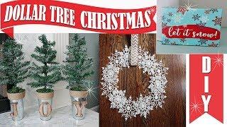 DOLLAR TREE DIY CHRISTMAS DECOR 2018
