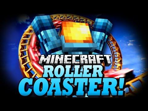 SPOOKY HALLOWEEN ROLLERCOASTER! - The Isle of Nalberius - Minecraft Rollercoaster