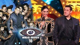 Salman Khan's BIGG BOSS 10 Launched, Deepika Padukone On Bigg Boss 10   Bollywood News