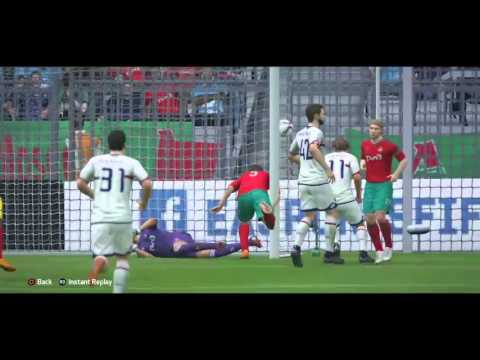 (S19) MD14 @ Lokomotiv Moscow - Goals