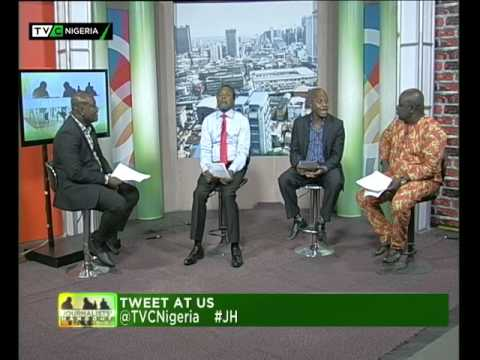 Journalists' Hangout 11th Nov 2015  Buhari swears-in-Ministers  TVC NEWS Nigeria