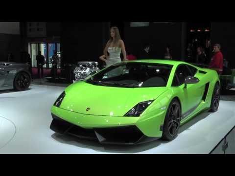Paris Motorshow The greatest Italians : Lamborghini. Ferrari. Maserati. Alfa Romeo