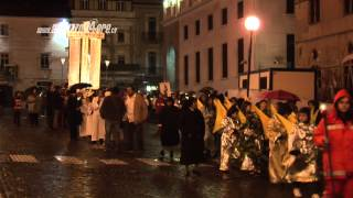 la processione del Cristo morto all