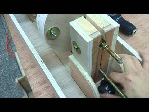 How to make wood cylinder by radial arm saw