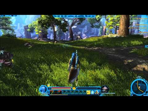 Jedi Consular LvL 1-10 - Episode #1 [SPOILERS] Holy Plays - Star Wars: The Old Republic