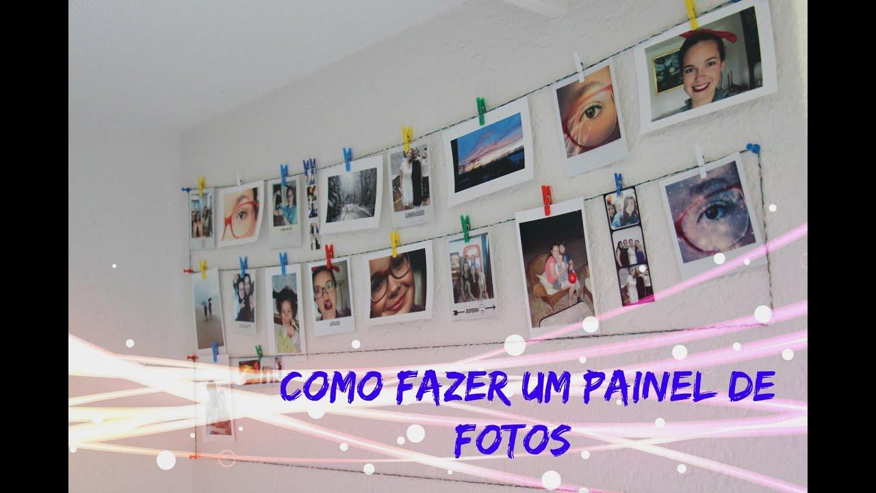 Como fazer um mural/painel de fotos:)   #2B06C5 2592x1728