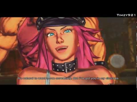 Street Fighter x Tekken - Poison & Hugo Story (Arcade)