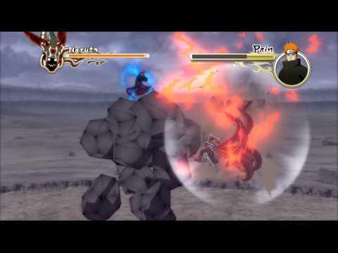 Naruto Shippuden: Ultimate Ninja Storm 2 - Naruto Vs Pain Boss Battle [ps3] video
