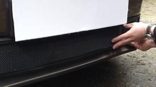 Видео: Установка защиты радиатора Volkswagen Jetta 6 Черная