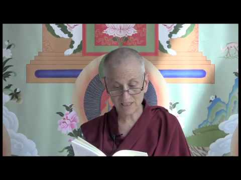 "Ven. Chodron reads from ""Buddhism for Beginners"""