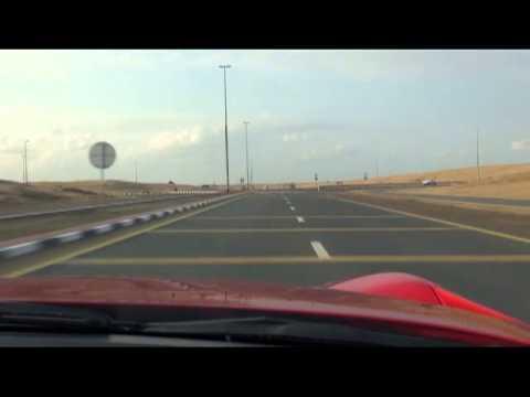 Ferrari F12 Berlinetta on the streets of Dubai | soloworldtour.com