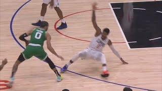 Jayson Tatum Drops Paul George to Force OT! 2019-20 NBA Season