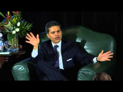 Fareed Zakaria Part 2 Q&A February 25, 2013 - Bon Mot Book Club - Vancouver