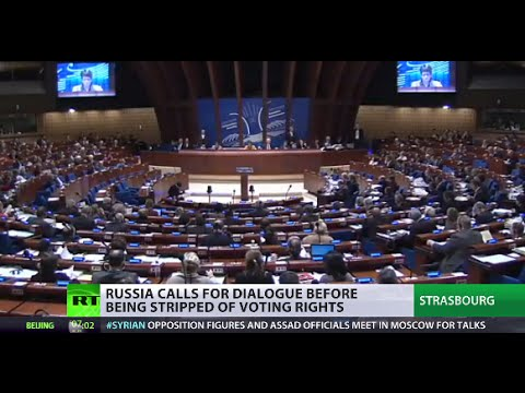 PACE suspends Russia's voting rights until April over conflict in Ukraine