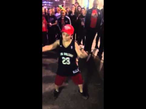 New Orleans Pelicans Pre-Game Dance Off NBA Anthony Davis