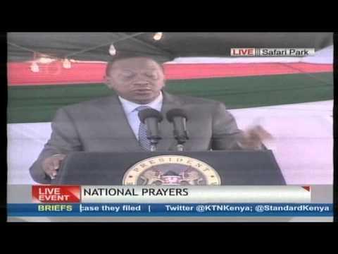 President Uhuru Kenyatta's speech at the National Prayers day