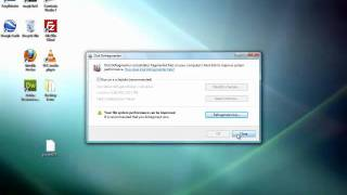 Como defragmentar su Disco Duro en Windows Vista y Windows 7